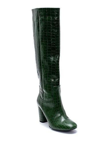 Derimod Kadın Çizme (18520) Klasik Yeşil